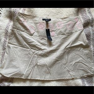 Cream and pink skirt by Laundry by Shelli Segal 12